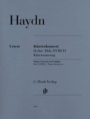 Concerto pour piano en ré majeur Hob 18-11 HAYDN laflutedepan