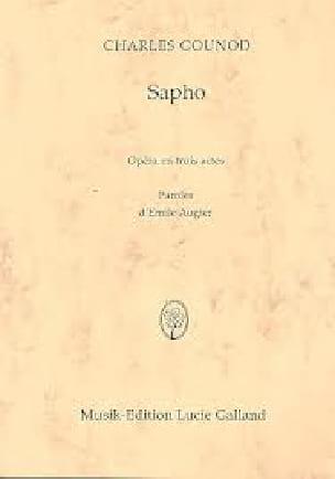 Sapho - GOUNOD - Partition - Opéras - laflutedepan.com