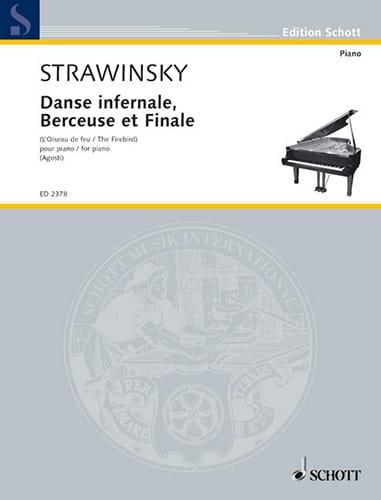 Danse Infernale, Berceuse et Finale. - STRAVINSKY - laflutedepan.com