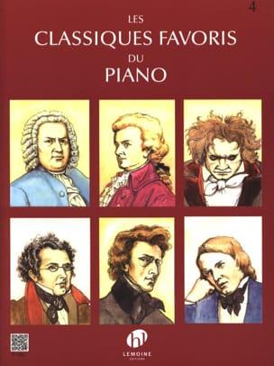 Classiques Favoris Volume 4 Partition Piano - laflutedepan