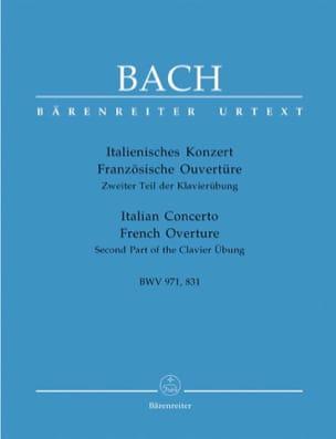 Italienisches Konzert BWV 971 - Französischer Ouvertüre BWV 831 laflutedepan