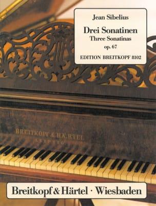 3 Sonatines Opus 67 SIBELIUS Partition Piano - laflutedepan