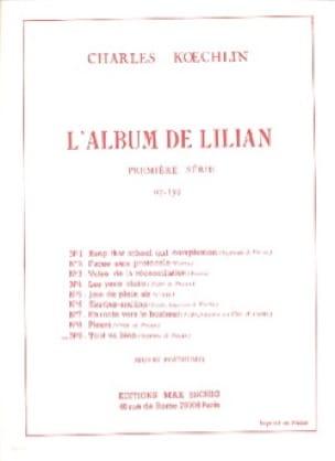 Tout Va Bien op. 139-9 - Charles Koechlin - laflutedepan.com