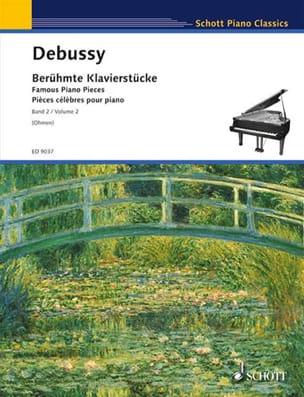 Pièces Célèbres Pour Piano Volume 2 DEBUSSY Partition laflutedepan