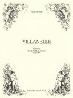 Villanelle Mel Bonis Partition Mélodies - laflutedepan