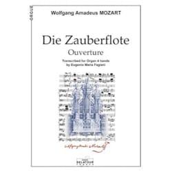 Ouverture : Die Zauberflöte Op. 68d MOZART Partition laflutedepan