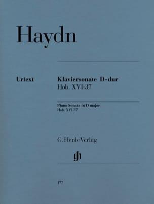 Sonate Pour Piano Ré Majeur Hob 16-37 HAYDN Partition laflutedepan