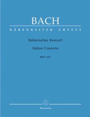 Italienisches Konzert. BWV 971 BACH Partition Piano - laflutedepan