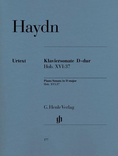 Sonate Pour Piano Ré Majeur Hob 16-37 - HAYDN - laflutedepan.com