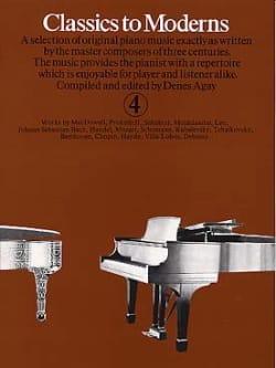 Classics To Moderns Volume 4 - Partition - laflutedepan.com