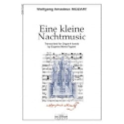 Eine Kleine Nachtmusik Opus 68c. MOZART Partition Orgue - laflutedepan