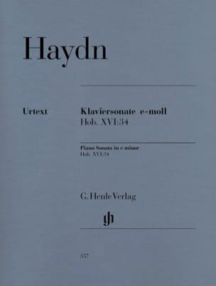 Sonate Pour Piano en Mi Mineur Hob 16-34 HAYDN Partition laflutedepan