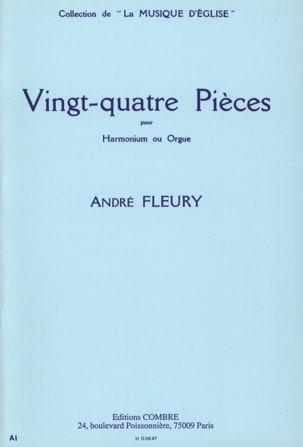 24 Pièces André Fleury Partition Orgue - laflutedepan