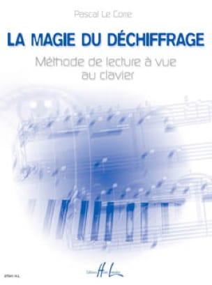 La Magie Du Déchiffrage + Livret - LE CORRE Pascal - laflutedepan.com