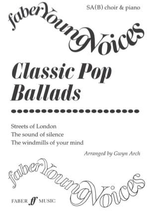 Classic Pop Ballads Partition Chœur - laflutedepan