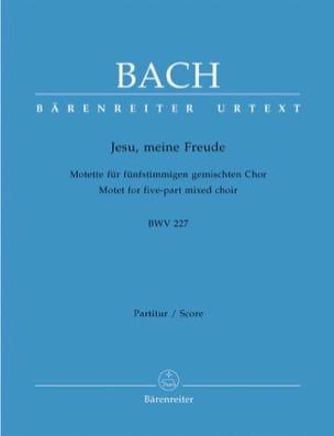 Motet N° 3. Jesu, Meine Freude BWV 227 BACH Partition laflutedepan