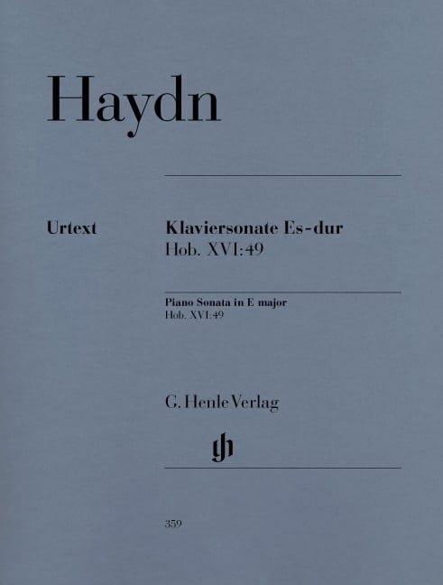 Sonate Pour Piano En Mi Bémol Majeur Hob. 16-49 - laflutedepan.com