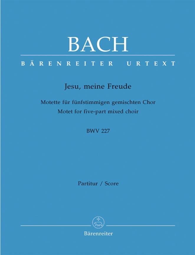 Motet N° 3. Jesu, Meine Freude BWV 227 - BACH - laflutedepan.com