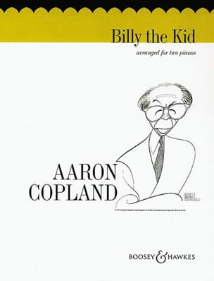 Billy The Kid. 2 Pianos COPLAND Partition Piano - laflutedepan