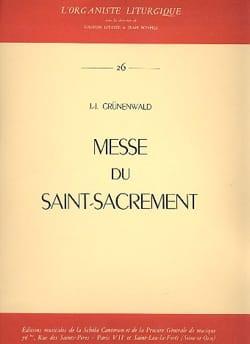 Messe Du Saint-Sacrement Jean-Jacques Grunenwald laflutedepan
