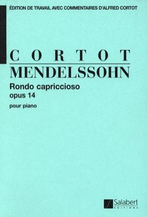 Rondo Capriccio, Opus 14 MENDELSSOHN Partition Piano - laflutedepan