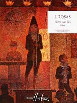 Sobre Las Olas Juventino Rosas Partition Piano - laflutedepan
