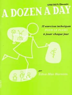 A Dozen A Day Volume 2 en Français Partition Piano - laflutedepan