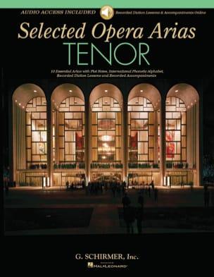 Selected Opera Arias. Ténor Partition Recueils - laflutedepan