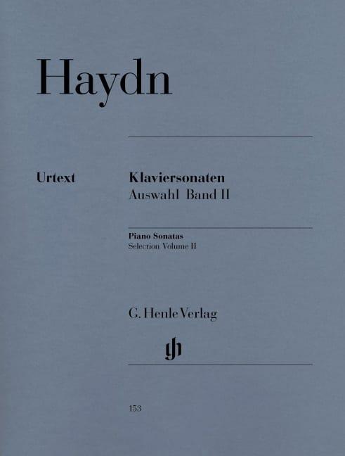 Sonates choisies pour piano Volume 2 - HAYDN - laflutedepan.com