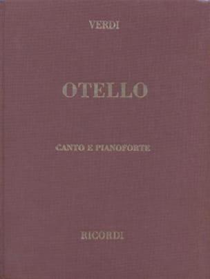 Otello. Relié - VERDI - Partition - Opéras - laflutedepan.com