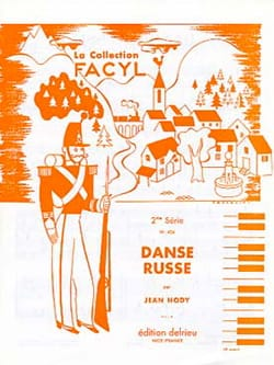 Danse Russe Jean Hody Partition Piano - laflutedepan
