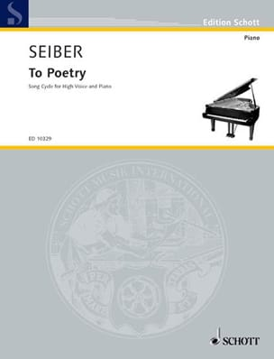 To Poetry - Matyas Seiber - Partition - Mélodies - laflutedepan.com