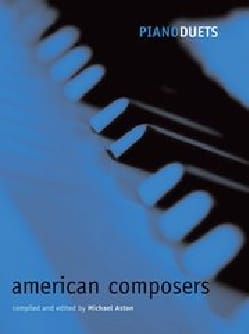 American Composers. 4 mains Partition Piano - laflutedepan