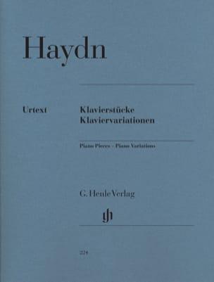 Klavierstücke. Klaviervariationen HAYDN Partition Piano - laflutedepan