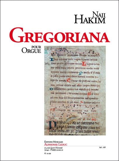 Gregoriana - Naji Hakim - Partition - Orgue - laflutedepan.com