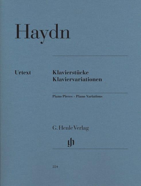 Klavierstücke. Klaviervariationen - HAYDN - laflutedepan.com