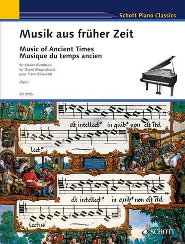 Musik Aus Früher Zeit - Partition - Clavecin - laflutedepan.com