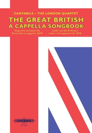 The Great british A Cappella Songbook Partition Chœur - laflutedepan