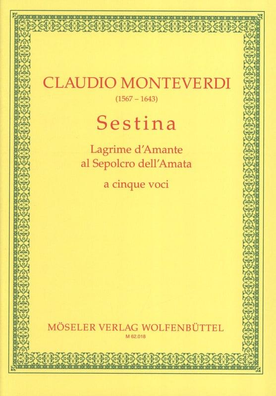 Sestina - MONTEVERDI - Partition - Chœur - laflutedepan.com