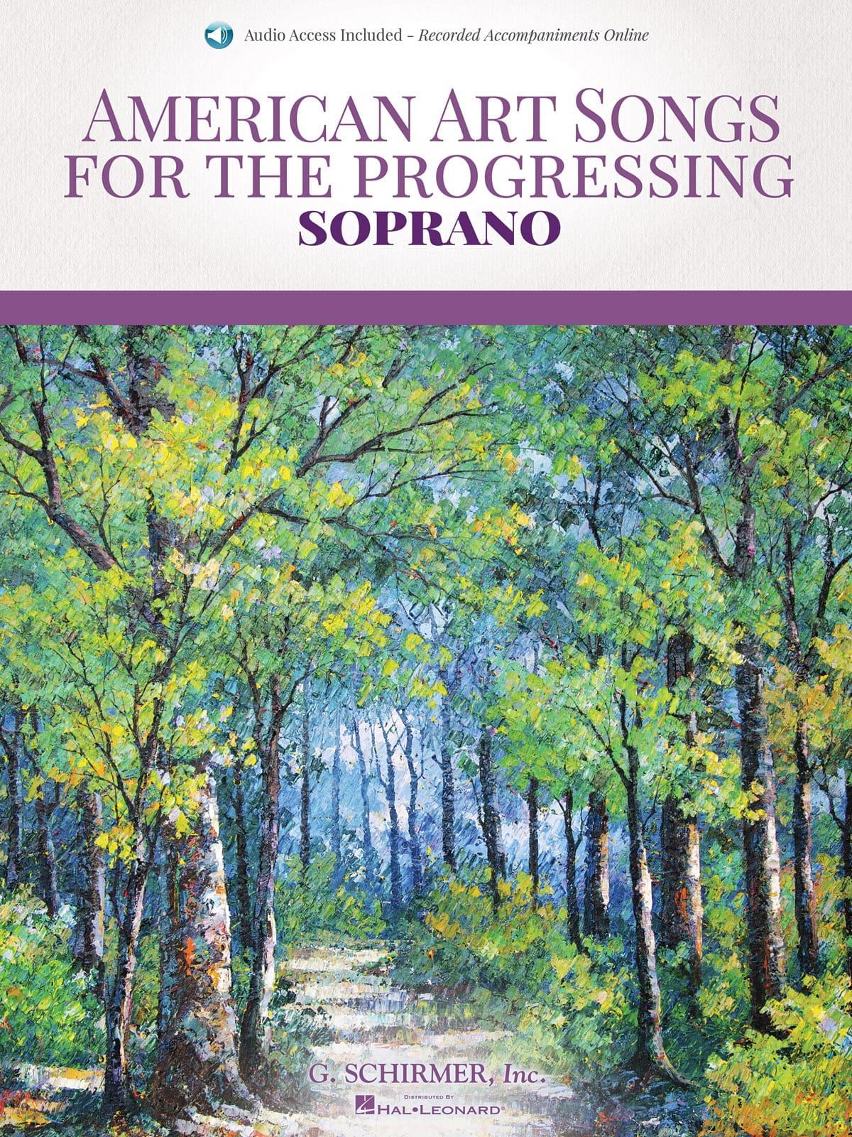 American art Songs for the progressing. Soprano - laflutedepan.com