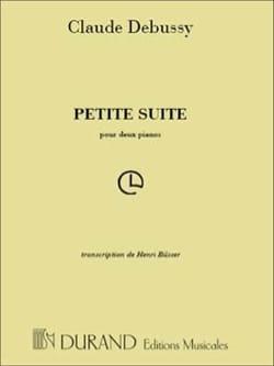 DEBUSSY - Suite pequeña. 2 pianos - Partition - di-arezzo.es
