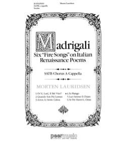 Morten Lauridsen - Io Piango SATB has capp - Partition - di-arezzo.com