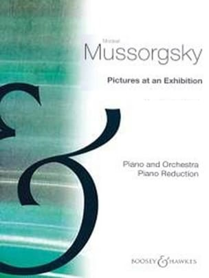 Pictures At An Exhibition. 2 Pianos. MOUSSORGSKI laflutedepan