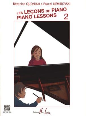 Les Leçons de Piano - Volume 2 - laflutedepan.com