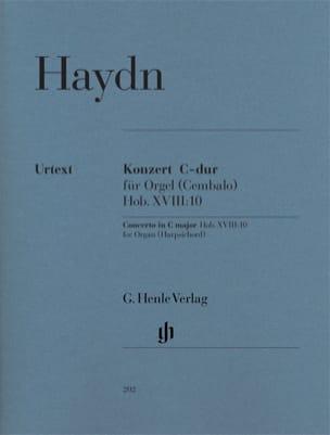 Concerto pour orgue en Ut majeur Hob. 18-10 HAYDN laflutedepan