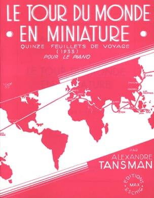 Le Tour Du Monde En Miniature Alexandre Tansman Partition laflutedepan
