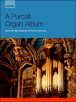 Purcell Organ Album PURCELL Partition Orgue - laflutedepan