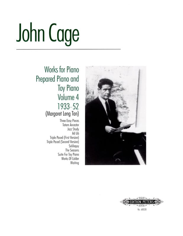 Works For Piano Prepared And Toy Piano Volume 4 - laflutedepan.com