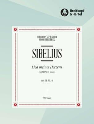 Lied Meines Herzens Op. 18-6 SIBELIUS Partition Chœur - laflutedepan
