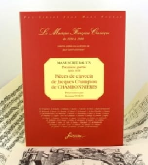 Pièces de Clavecin Du Manuscrit Bauyn - laflutedepan.com